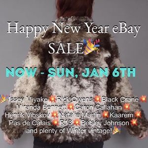 Other - HAPPY NEW YEAR eBAY SALE